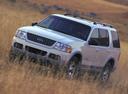 Фото авто Ford Explorer 3 поколение, ракурс: 45 цвет: белый