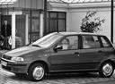 Фото авто Fiat Punto 1 поколение, ракурс: 45 цвет: серый