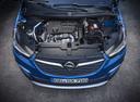 Фото авто Opel Grandland X 1 поколение, ракурс: двигатель цвет: синий