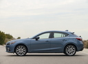 Фото авто Mazda 3 BM, ракурс: 90 цвет: синий