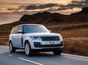 Фото авто Land Rover Range Rover 4 поколение [рестайлинг], ракурс: 315 цвет: белый