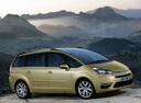 Фото авто Citroen C4 Picasso 1 поколение, ракурс: 270 цвет: золотой