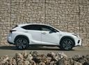 Фото авто Lexus NX 1 поколение [рестайлинг], ракурс: 90 цвет: белый
