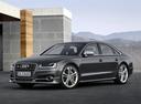 Фото авто Audi S8 D4 [рестайлинг], ракурс: 45 цвет: серый