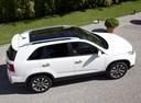 Фото авто Kia Sorento 2 поколение [рестайлинг], ракурс: 270 цвет: белый