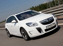 Фото авто Opel Insignia A, ракурс: 315 цвет: белый