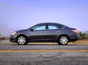 Фото авто Nissan Sentra B17, ракурс: 90 цвет: серый