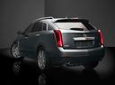 Фото авто Cadillac SRX 2 поколение [рестайлинг], ракурс: 135 цвет: серый