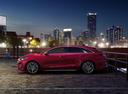 Фото авто Kia Cee'd 3 поколение, ракурс: 90 цвет: красный
