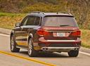 Фото авто Mercedes-Benz GL-Класс X166, ракурс: 135 цвет: коричневый