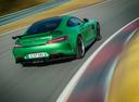 Фото авто Mercedes-Benz AMG GT C190 [рестайлинг], ракурс: 225 цвет: зеленый