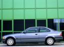 Фото авто BMW 3 серия E36, ракурс: 90 цвет: серый
