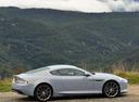 Фото авто Aston Martin DB9 1 поколение [2-й рестайлинг], ракурс: 270 цвет: серый