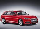 Фото авто Audi A4 B9, ракурс: 315 - рендер цвет: красный
