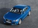 Фото авто Audi A5 8T, ракурс: 45 цвет: синий