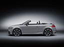 Фото авто Audi TT 8S, ракурс: 90 цвет: серый