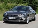 Фото авто Hyundai Genesis 1 поколение [рестайлинг], ракурс: 45 цвет: серый