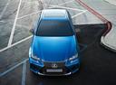 Фото авто Lexus GS 4 поколение [рестайлинг], ракурс: сверху цвет: синий