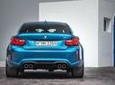 Фото авто BMW M2 F87, ракурс: 180 цвет: голубой