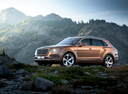Фото авто Bentley Bentayga 1 поколение, ракурс: 90 цвет: бронзовый