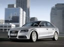 Фото авто Audi A4 B8/8K, ракурс: 45 цвет: серебряный