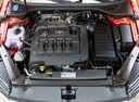 Фото авто Volkswagen Passat B8, ракурс: двигатель цвет: оранжевый