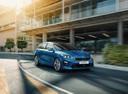 Фото авто Kia Cee'd 3 поколение, ракурс: 315 цвет: синий