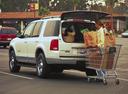 Фото авто Ford Explorer 3 поколение, ракурс: 135 цвет: белый