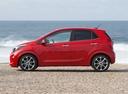 Фото авто Kia Picanto 3 поколение, ракурс: 90 цвет: красный