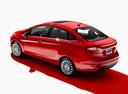 Фото авто Ford Fiesta 6 поколение [рестайлинг], ракурс: 135 - рендер цвет: красный