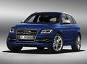 Фото авто Audi SQ5 8R, ракурс: 45 цвет: синий