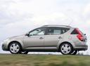Фото авто Kia Cee'd 1 поколение, ракурс: 90 цвет: бежевый