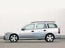 Фото авто Opel Astra G, ракурс: 90 цвет: серебряный