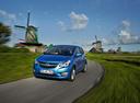 Фото авто Opel Karl 1 поколение, ракурс: 45 цвет: голубой