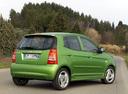 Фото авто Kia Picanto 1 поколение, ракурс: 225 цвет: зеленый