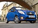 Фото авто Chevrolet Spark M300, ракурс: 315 цвет: синий