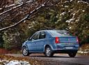 Фото авто Renault Logan 1 поколение [рестайлинг], ракурс: 135 цвет: синий