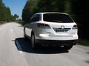 Фото авто Mazda CX-9 1 поколение, ракурс: 180 цвет: белый