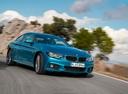 Фото авто BMW 4 серия F32/F33/F36 [рестайлинг], ракурс: 315 цвет: голубой