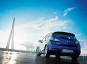 Фото авто Mazda 3 BL [рестайлинг], ракурс: 180 цвет: синий