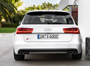 Фото авто Audi S6 C7, ракурс: 180 цвет: белый