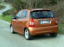 Фото авто Kia Picanto 1 поколение, ракурс: 135 цвет: коричневый
