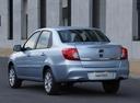 Фото авто Datsun on-DO 1 поколение, ракурс: 135 цвет: голубой