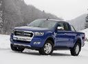Фото авто Ford Ranger 4 поколение [рестайлинг], ракурс: 45 цвет: синий