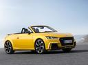 Фото авто Audi TT 8S, ракурс: 315 цвет: желтый