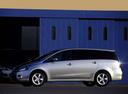 Фото авто Mitsubishi Grandis 1 поколение, ракурс: 90 цвет: серебряный