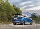 Фото авто Ford EcoSport 2 поколение [рестайлинг], ракурс: 225 цвет: синий