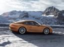 Фото авто Porsche 911 991, ракурс: 270 цвет: коричневый