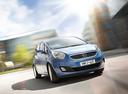 Фото авто Kia Venga 1 поколение,  цвет: голубой