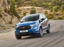 Фото авто Ford EcoSport 2 поколение [рестайлинг], ракурс: 45 цвет: синий